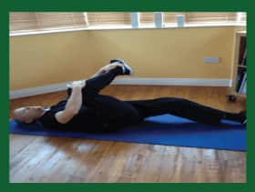 piriformis-stretch-low-back by Naas Physio & Chiropractic Clinic