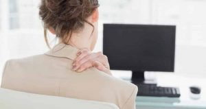 Neck Pain from disc bulge by Chiropractor Naas at the Physio Clinic